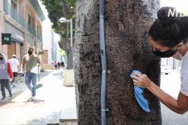 Тысячи жителей Калифорнии вышли на уборку после погромов и мародёрства