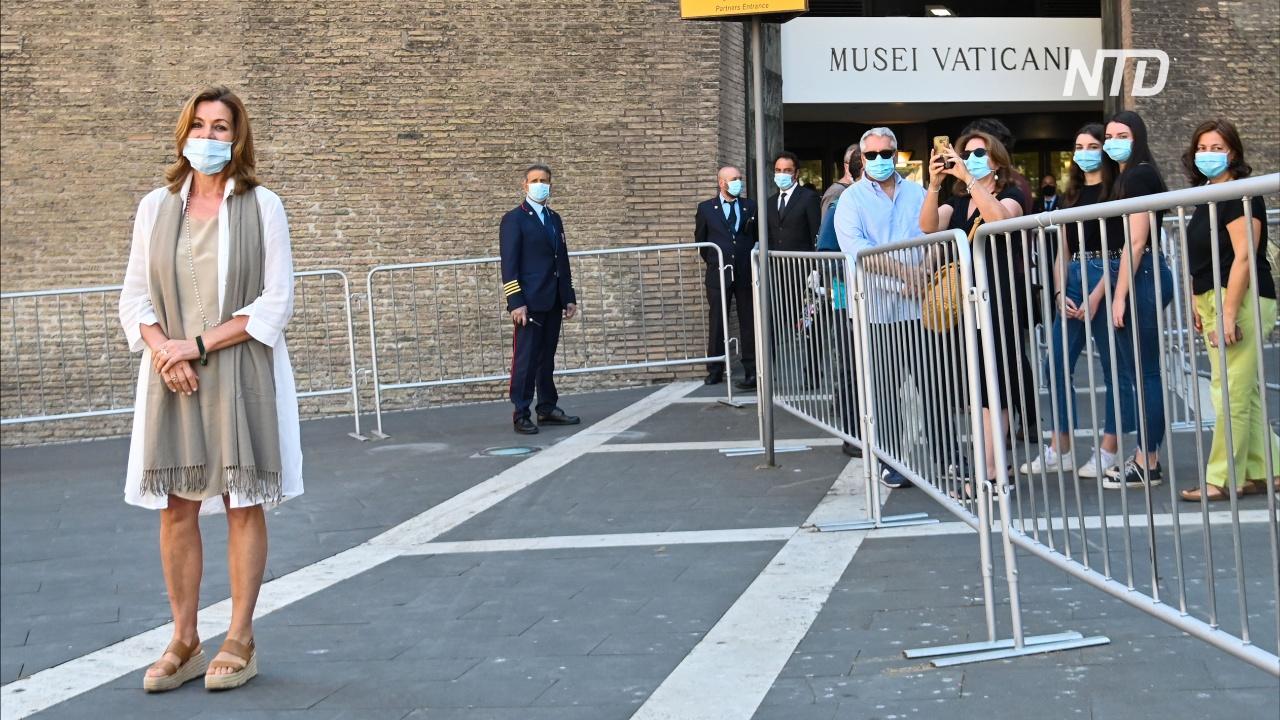 Редкий шанс: музеи Ватикана открылись, и там пока нет толп туристов