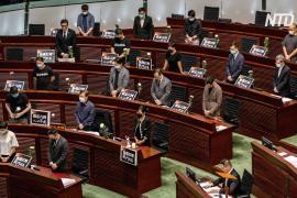 В парламенте Гонконга запретили проводить минуту молчания в годовщину «Бойни на Тяньаньмэнь»