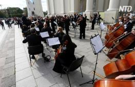 Литовские музыканты концертами отпраздновали сдерживание эпидемии