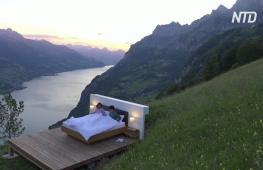 Номер на лоне природы: Швейцарию и Лихтенштейн превратили в огромный отель