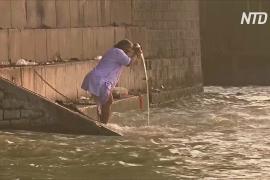 Священная индийская река очистилась благодаря карантину