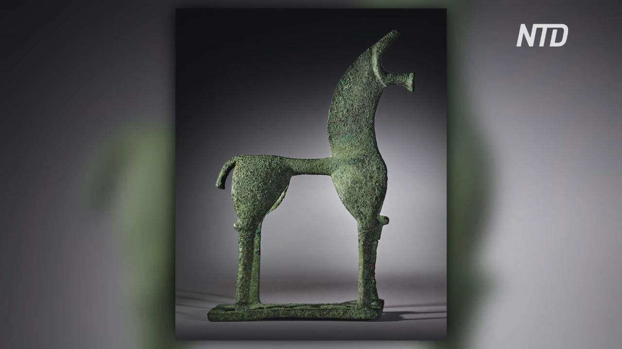 Суд США встал на сторону Греции в деле о возврате древней бронзовой лошади