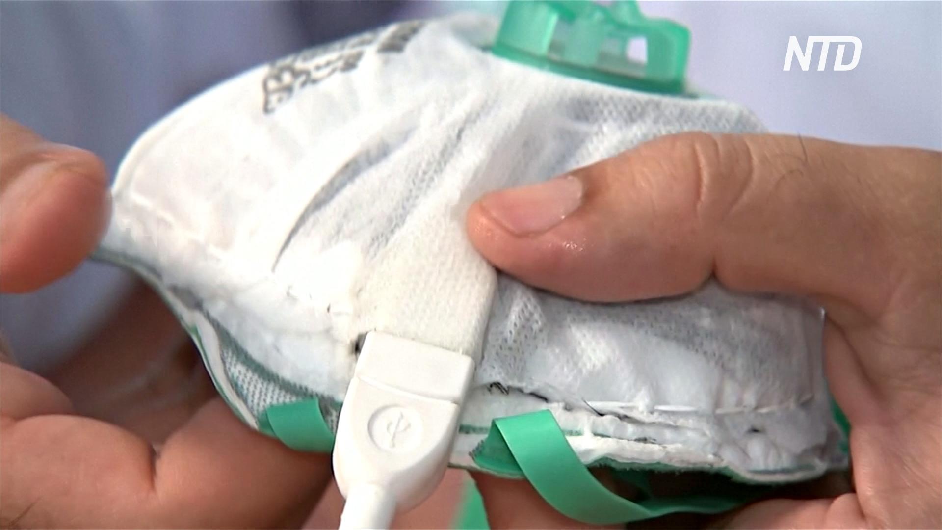 Маску, которая убивает коронавирус теплом, изобрели в Израиле