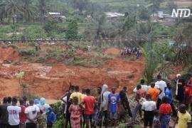 В Абиджане сошёл страшный оползень: не менее 13 погибших