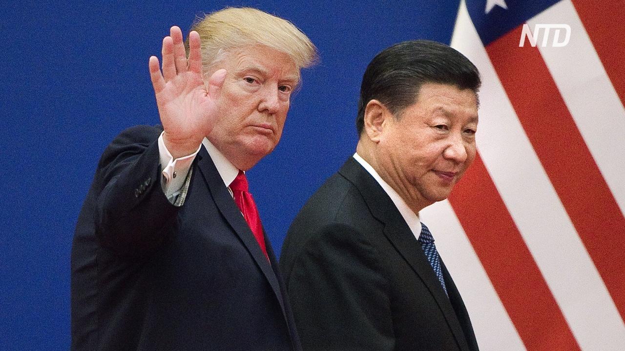 Дональд Трамп снова пригрозил разорвать отношения с Китаем