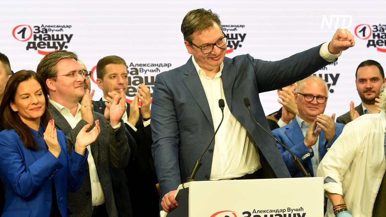 В Сербии у власти остаются правящие консерваторы