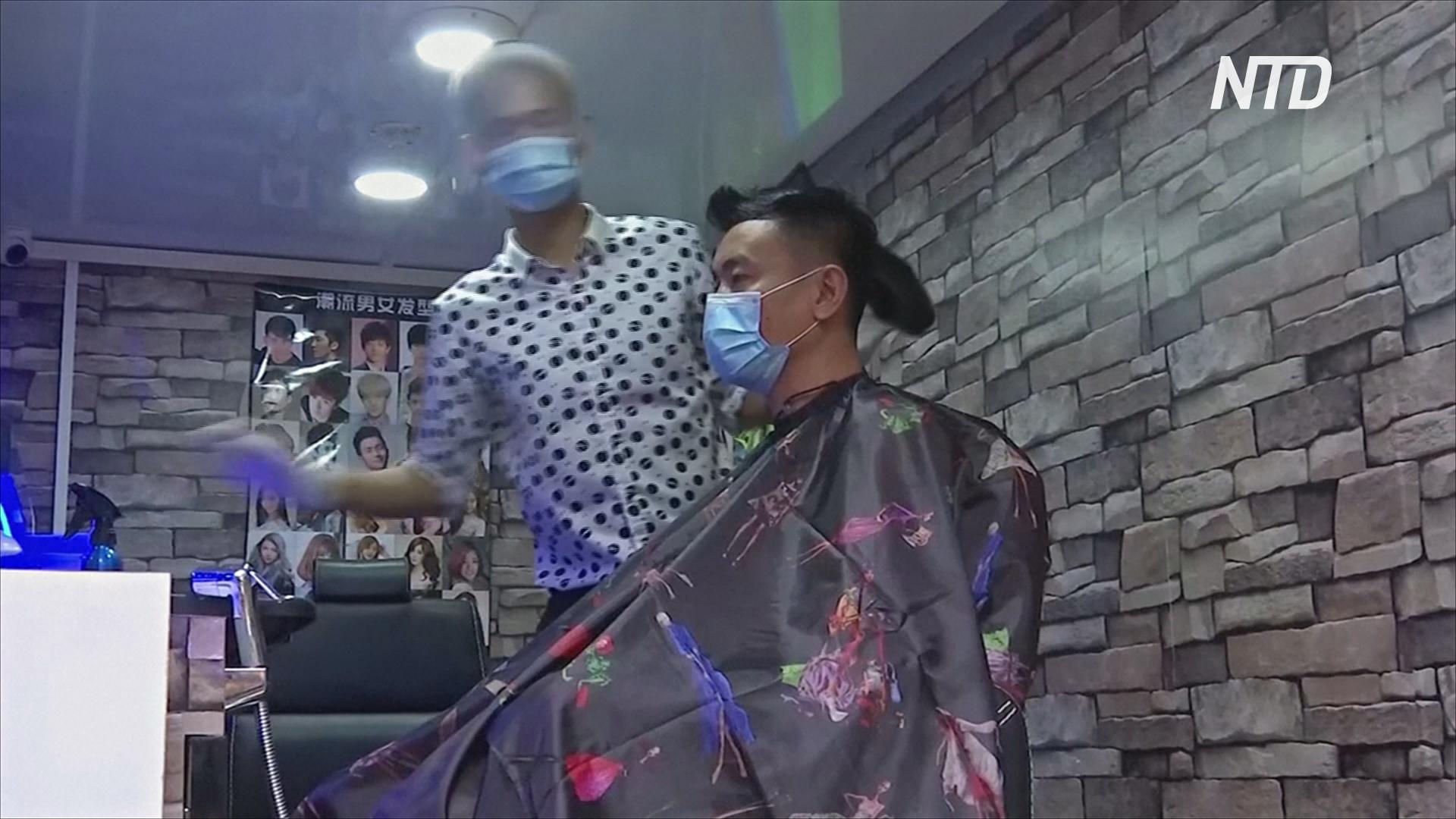 Парикмахерская на колесах: в Мьянме можно подстричься прямо у дома