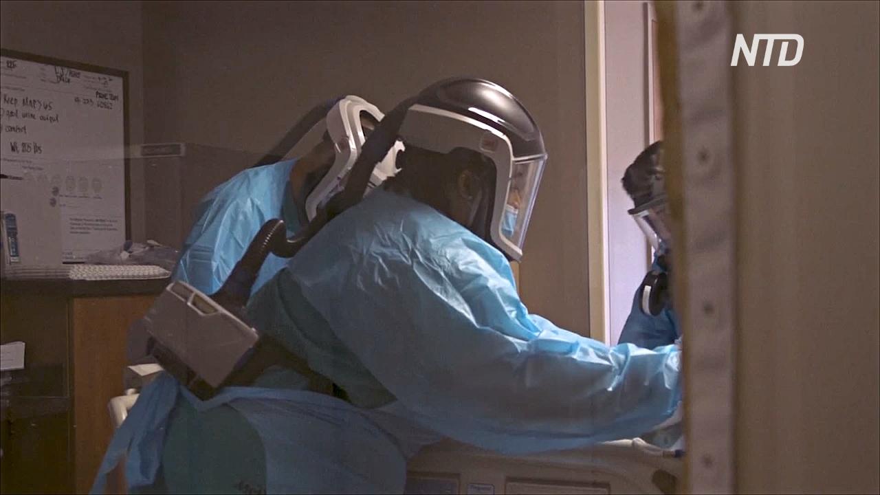 В США регистрируют рост числа заболевших COVID-19