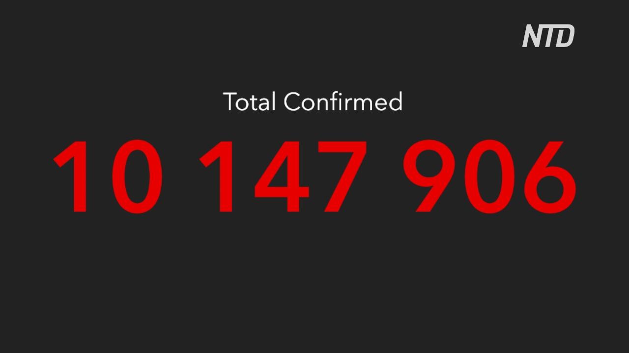 Число случаев коронавируса в мире превысило 10 миллионов