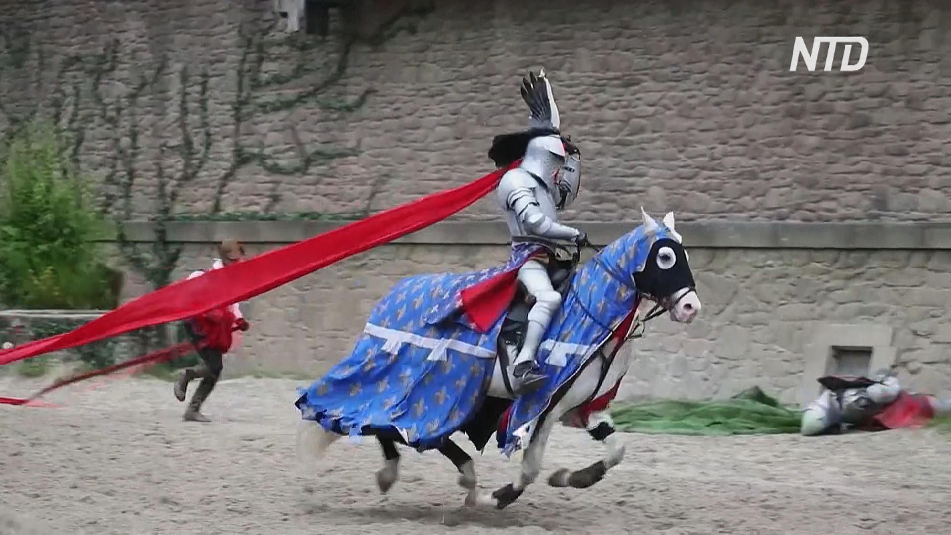 Средневековый парк Пюи-дю-Фу во Франции открывается после карантина