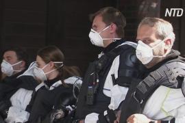 Бунт против карантина: в Германии жильцы многоэтажки напали на полицию