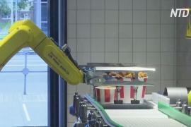 В московском KFC людей обслуживает роботизированная «рука»