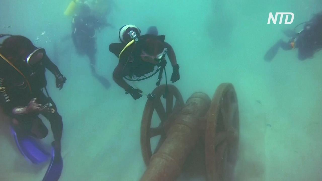 Забава для дайверов: на Шри-Ланке открыли подводный музей