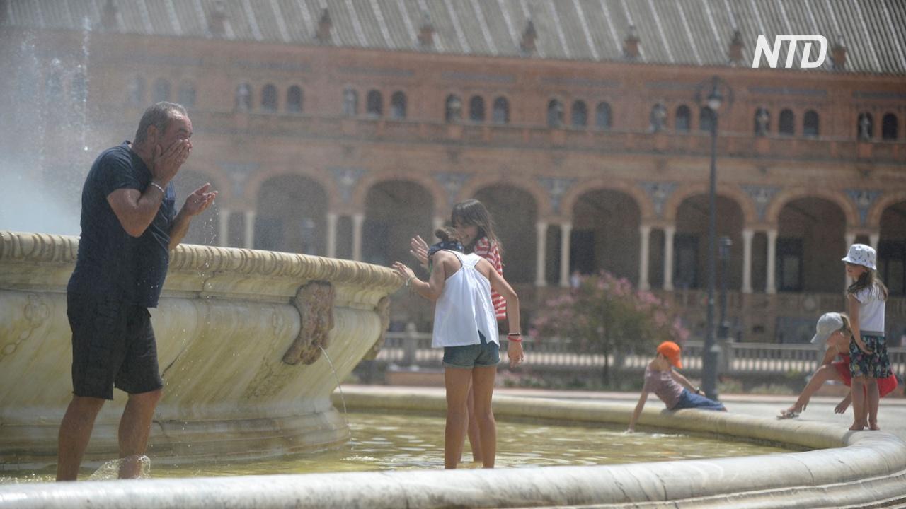 После отмены карантина Испанию накрыла жара