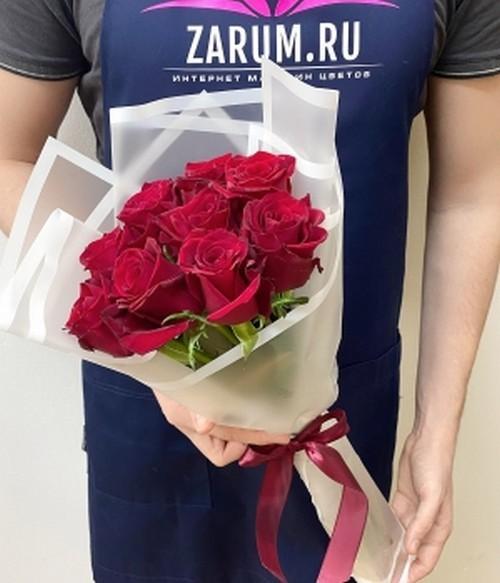 Букет из 5 роз Шангрила (50 см )