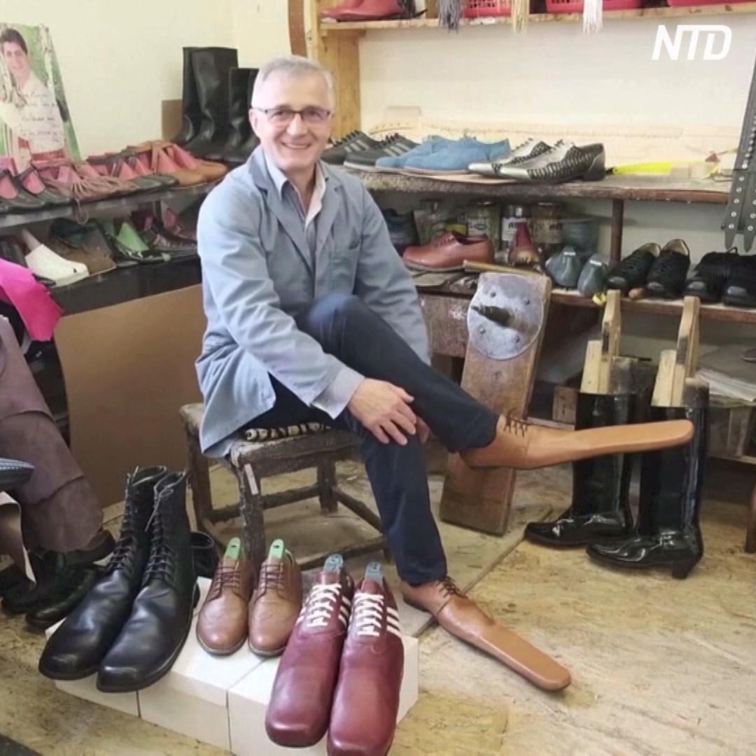 Обувь 75-го размера поможет дистанцироваться