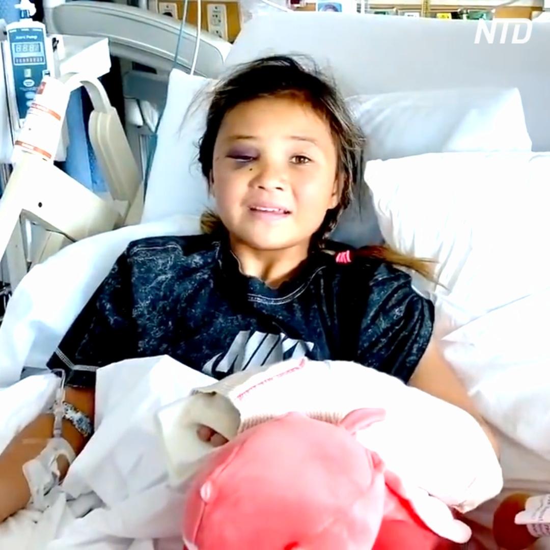 11-летняя скейтбордистка поломала череп и руку, но всё ещё собирается на Олимпиаду