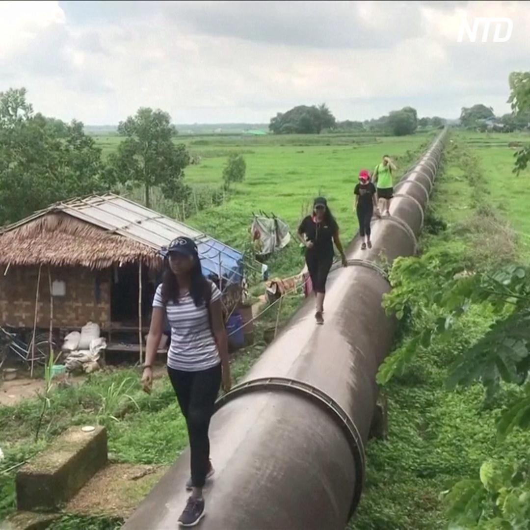 Прогулка по старому водопроводу – популярная экскурсия в Мьянме