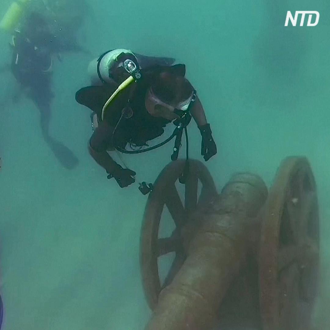 Первый подводный музей появился на Шри-Ланке