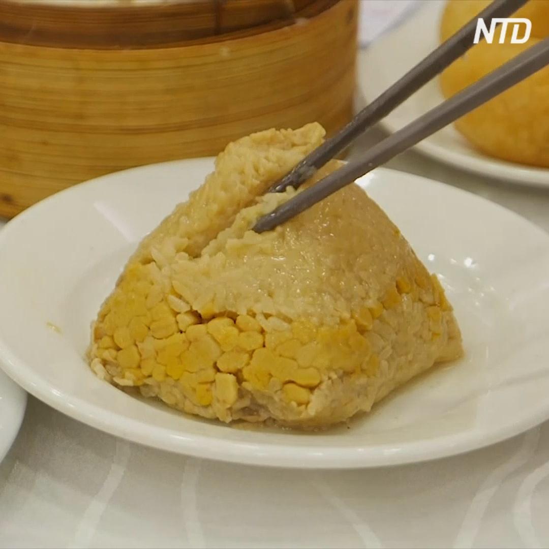 Клейкий рис в бамбуке в память об утонувшем поэте