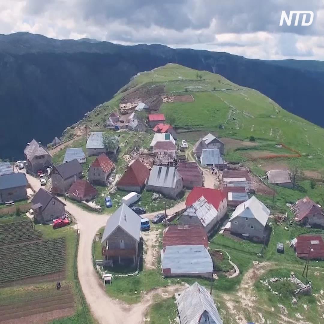 До отдалённой боснийской деревни коронавирус не дошёл