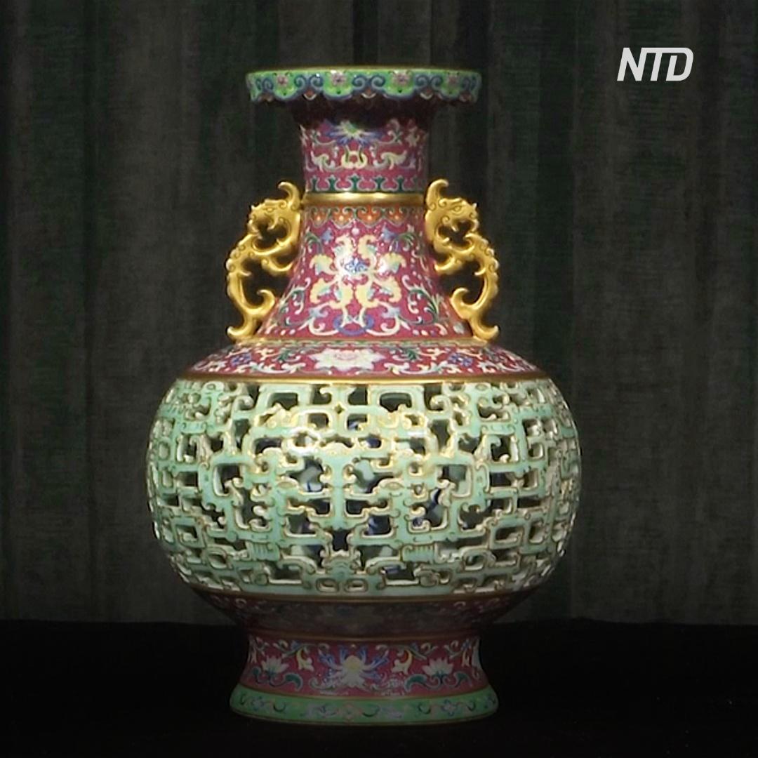 Созданную для императора вазу продадут на аукционе за 9-11 млн долларов