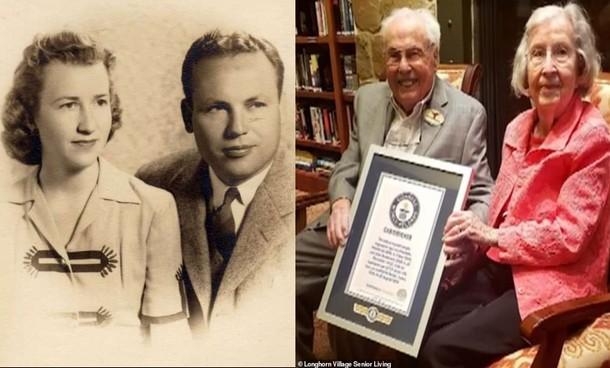 Супружеская пара из Техаса вместе 80 лет