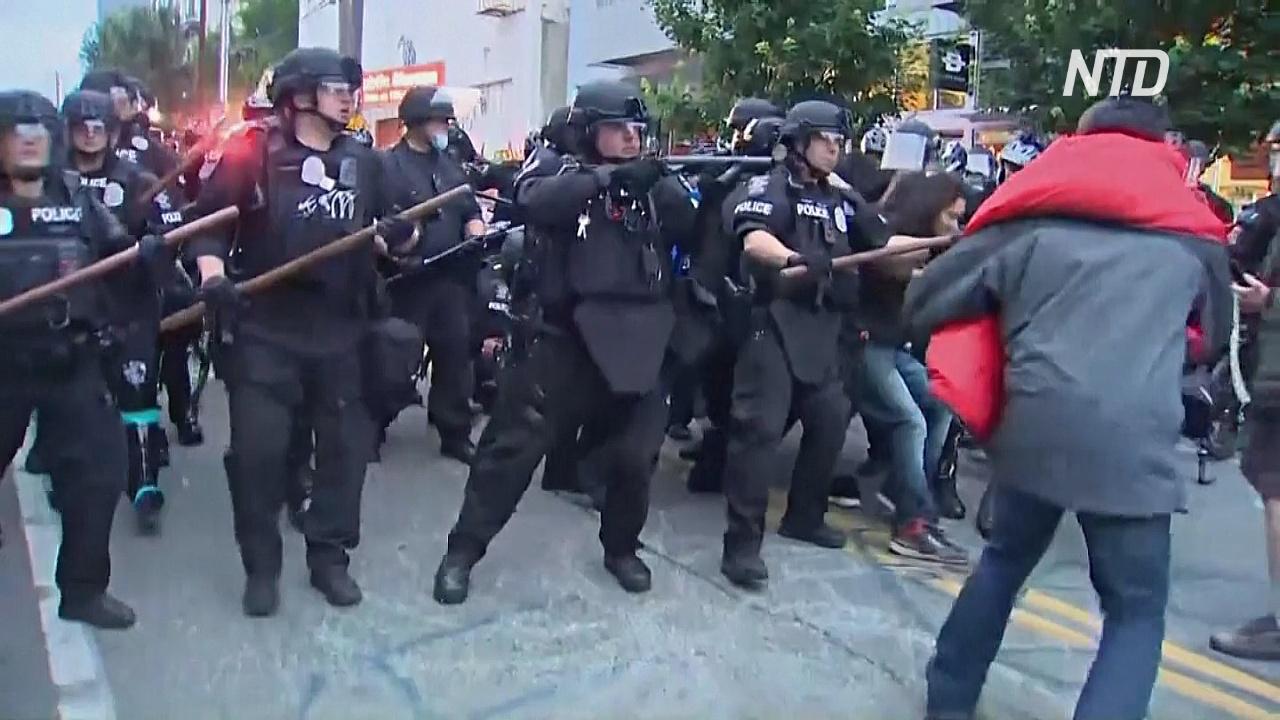 В Сиэтле полиция убрала «автономные зоны» протестующих