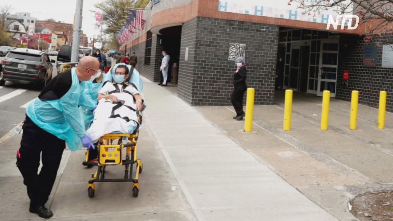 Мировой антирекорд: за день в США коронавирусом заболело более 55 тысяч человек