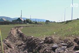 Вокруг бурятского села вырыли ров, чтобы обеспечить соблюдение карантина