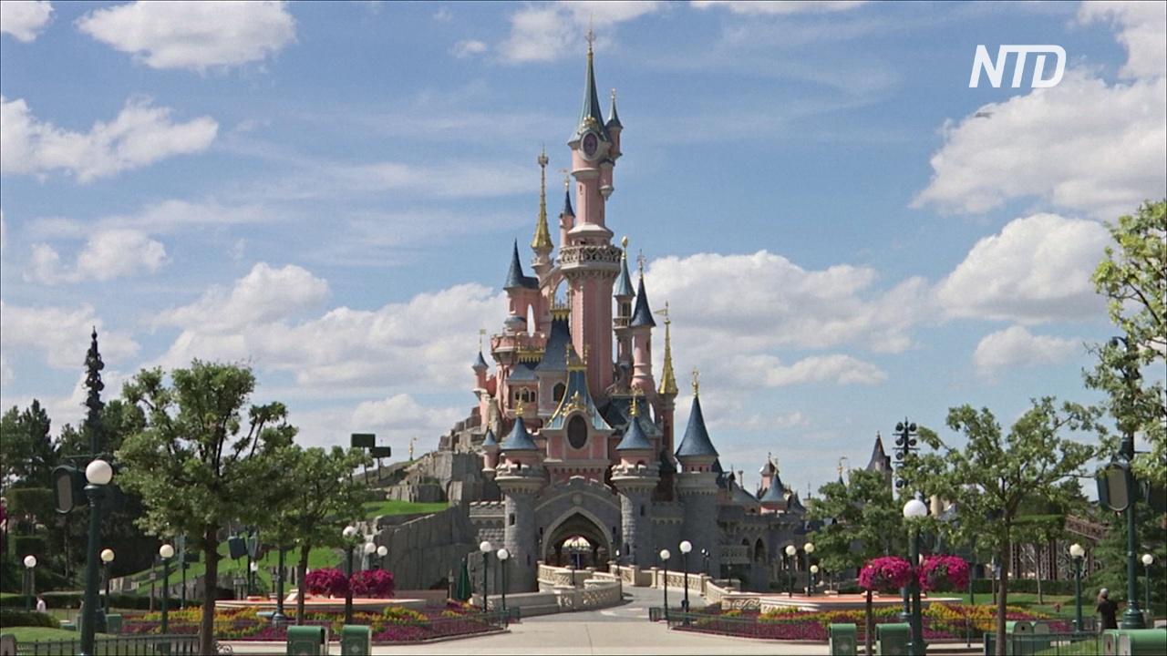 Парижский «Диснейленд» готовится принимать гостей и обеспечивать дистанцию