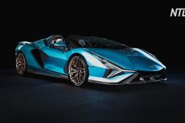 Lamborghini представляет гибридный родстер Sian – первый в истории марки