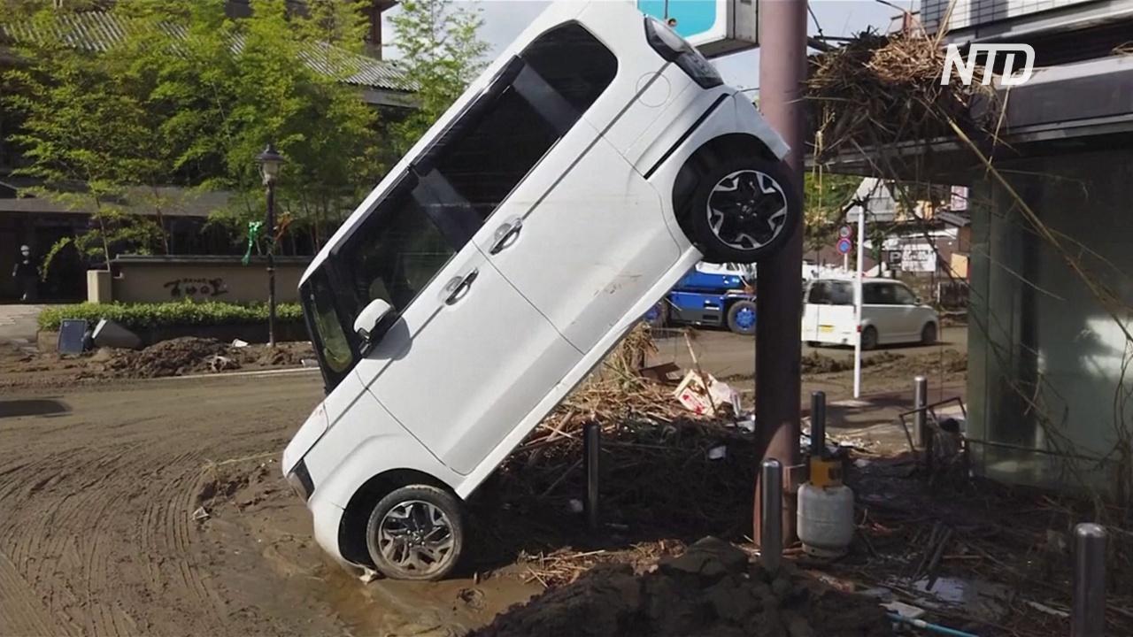 Япония выделит $3,7 млрд на восстановление от наводнений