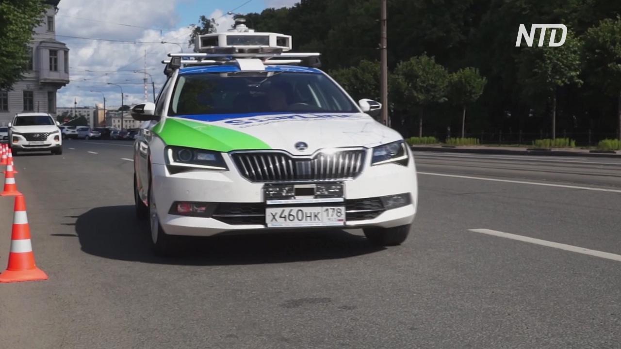 На дорогах Петербурга протестировали беспилотный автомобиль StarLine