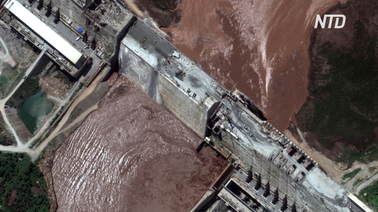 Эфиопия заполняет водохранилище спорной ГЭС без договора с Египтом и Суданом