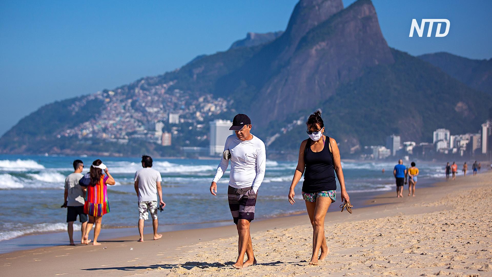 В Бразилии число заражённых коронавирусом превысило 2 млн