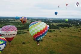 Разноцветные аэростаты проплыли над Переславлем-Залесским и Суздалем