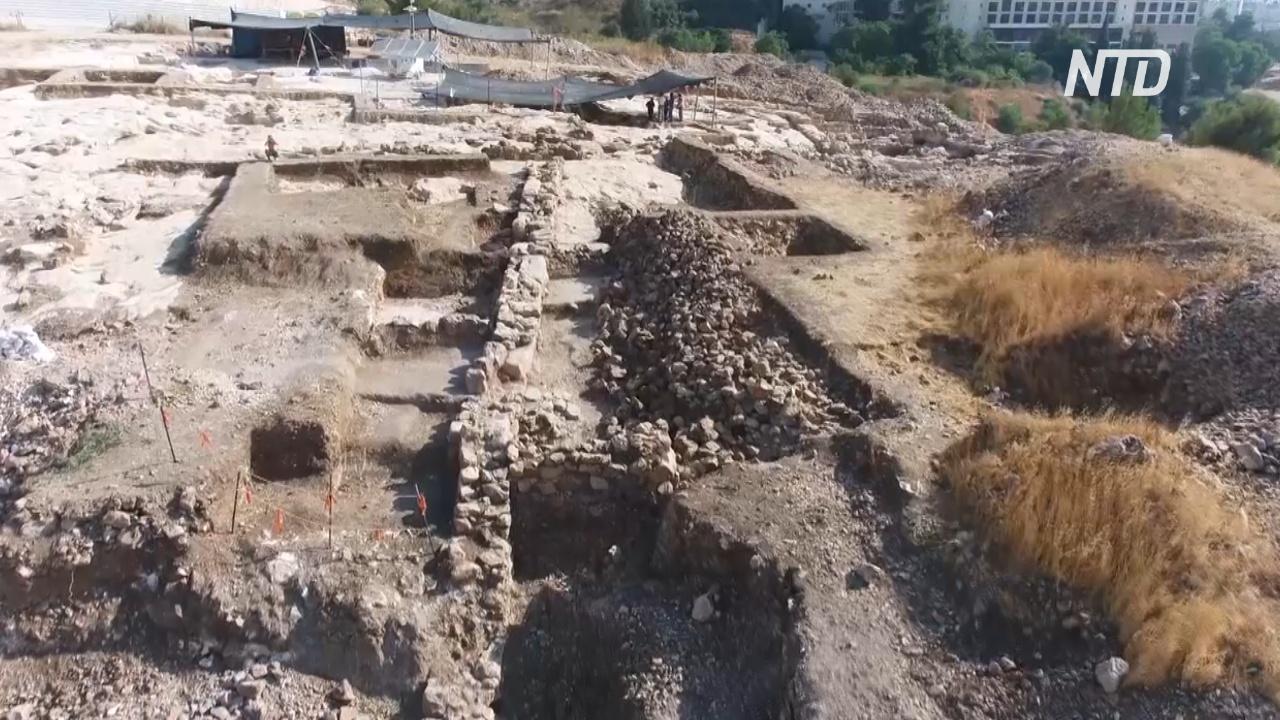 В Иерусалиме нашли руины царских кладовых возрастом 2700 лет