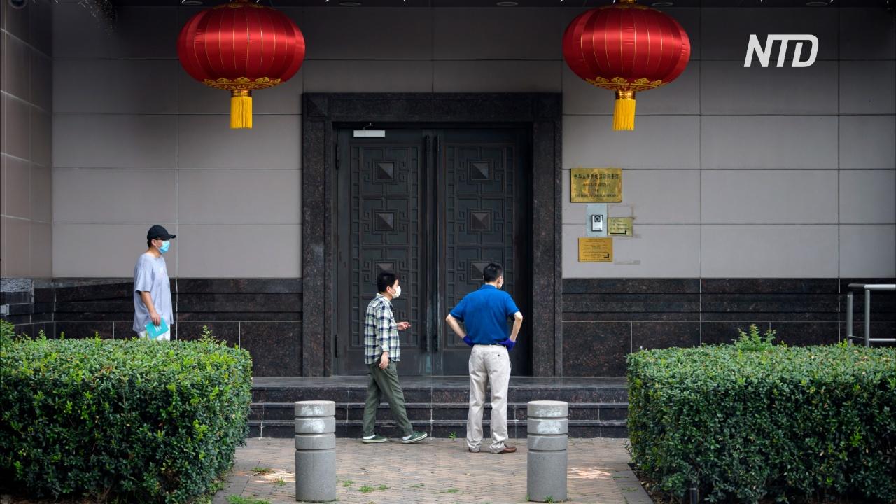 В американском Хьюстоне закрывают китайское консульство