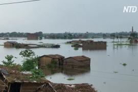 Наводнения в Индии: люди молят власти о помощи
