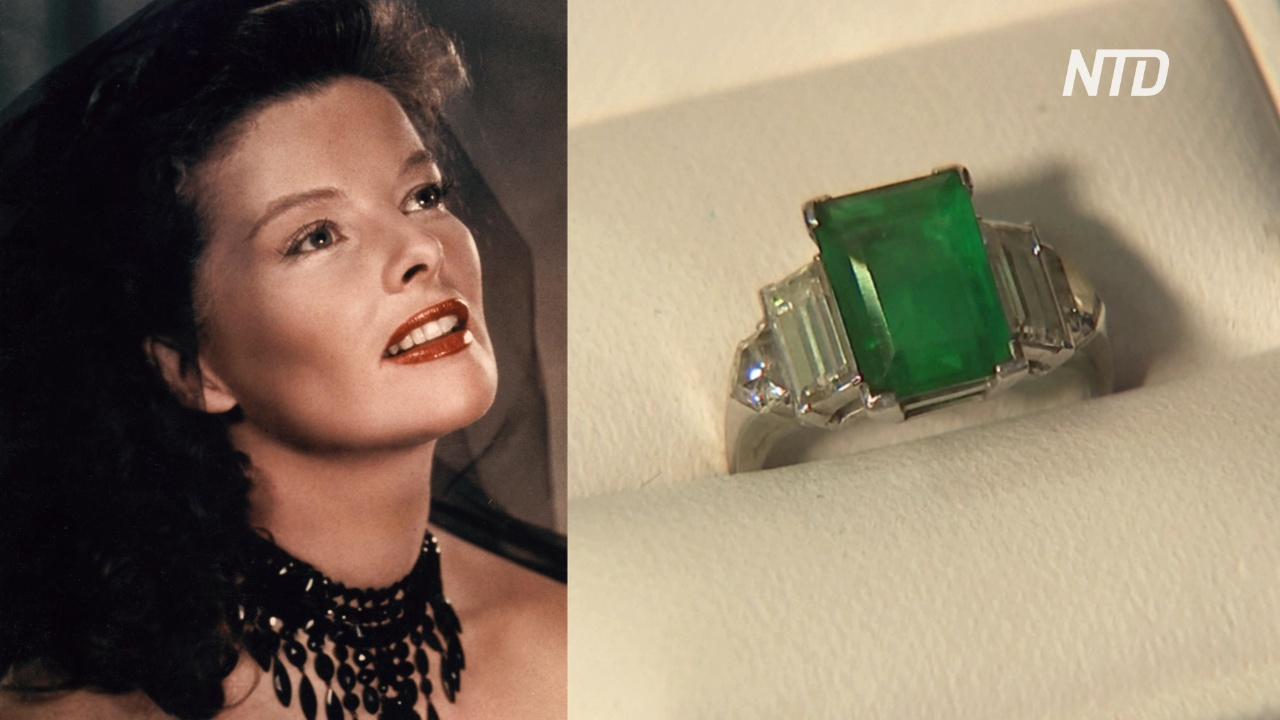 Обручальное кольцо Кэтрин Хепбёрн продали на аукционе за $108 000