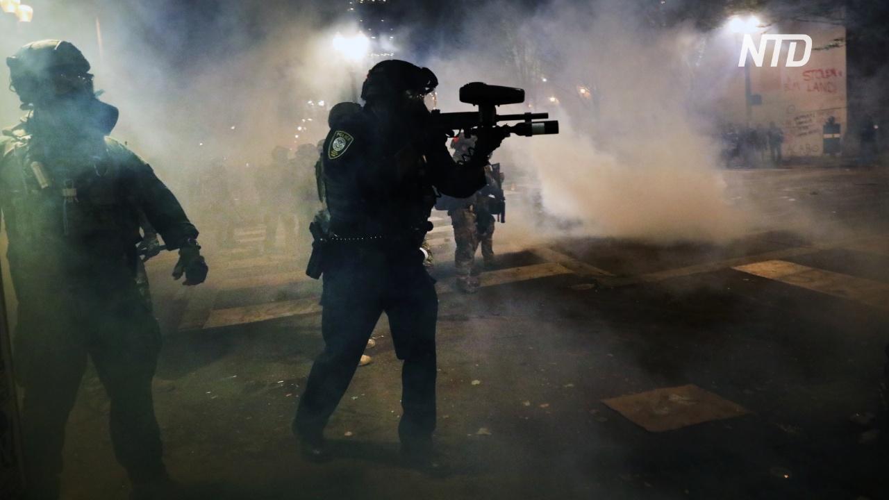 Члены Black Lives Matter в Портленде вступили в стычки с федеральными военными