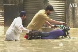 Восемь человек стали жертвами наводнений в Карачи