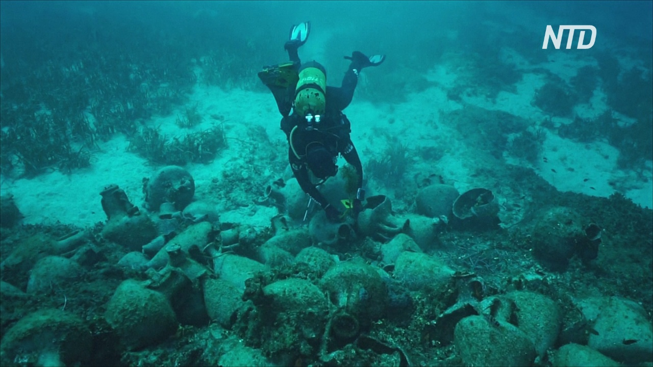 Дайверы смогут поплавать возле обломков судна в Греции, затонувшего в V веке до нашей эры