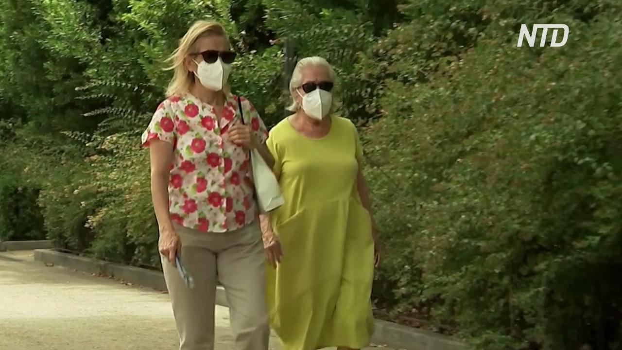 В Мадриде вынуждены носить маски в 40-градусную жару