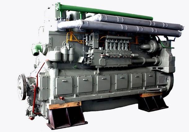 Двигатель дизельный Д 50