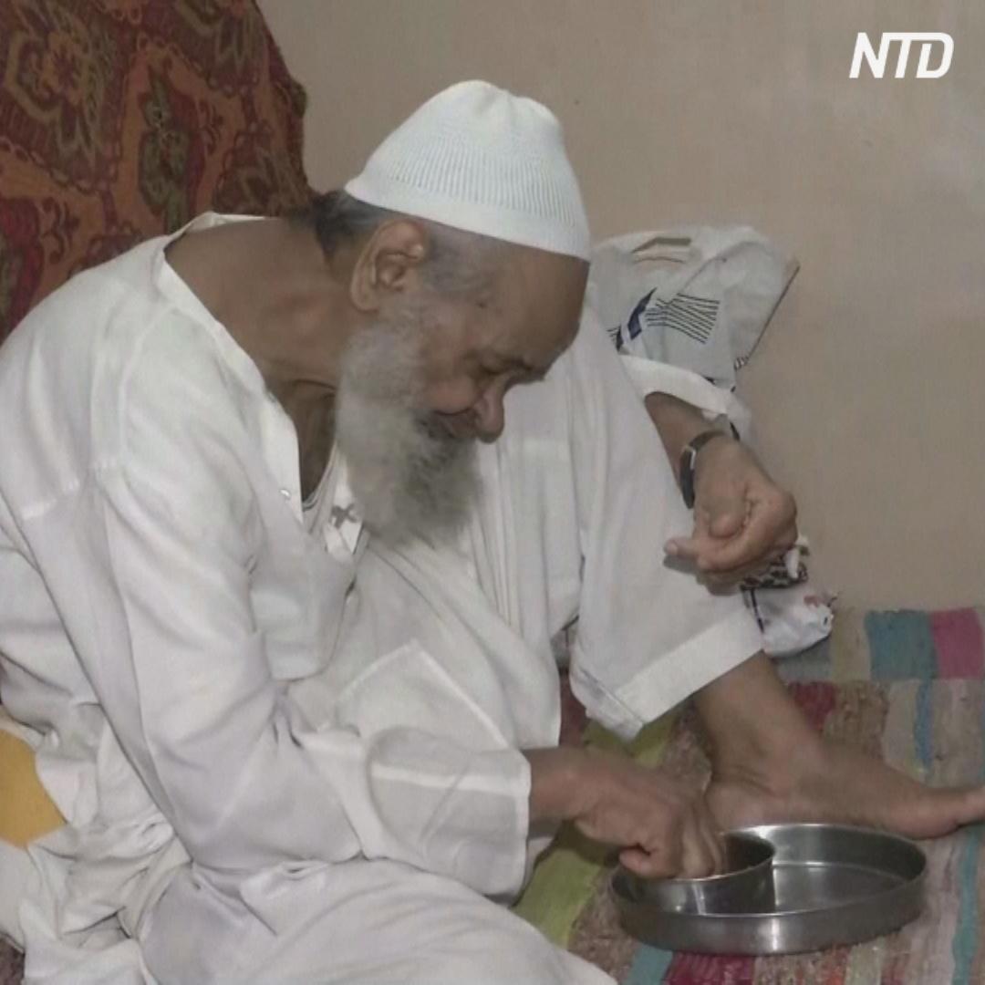 106-летний индиец вылечился от COVID-19 быстрее сына