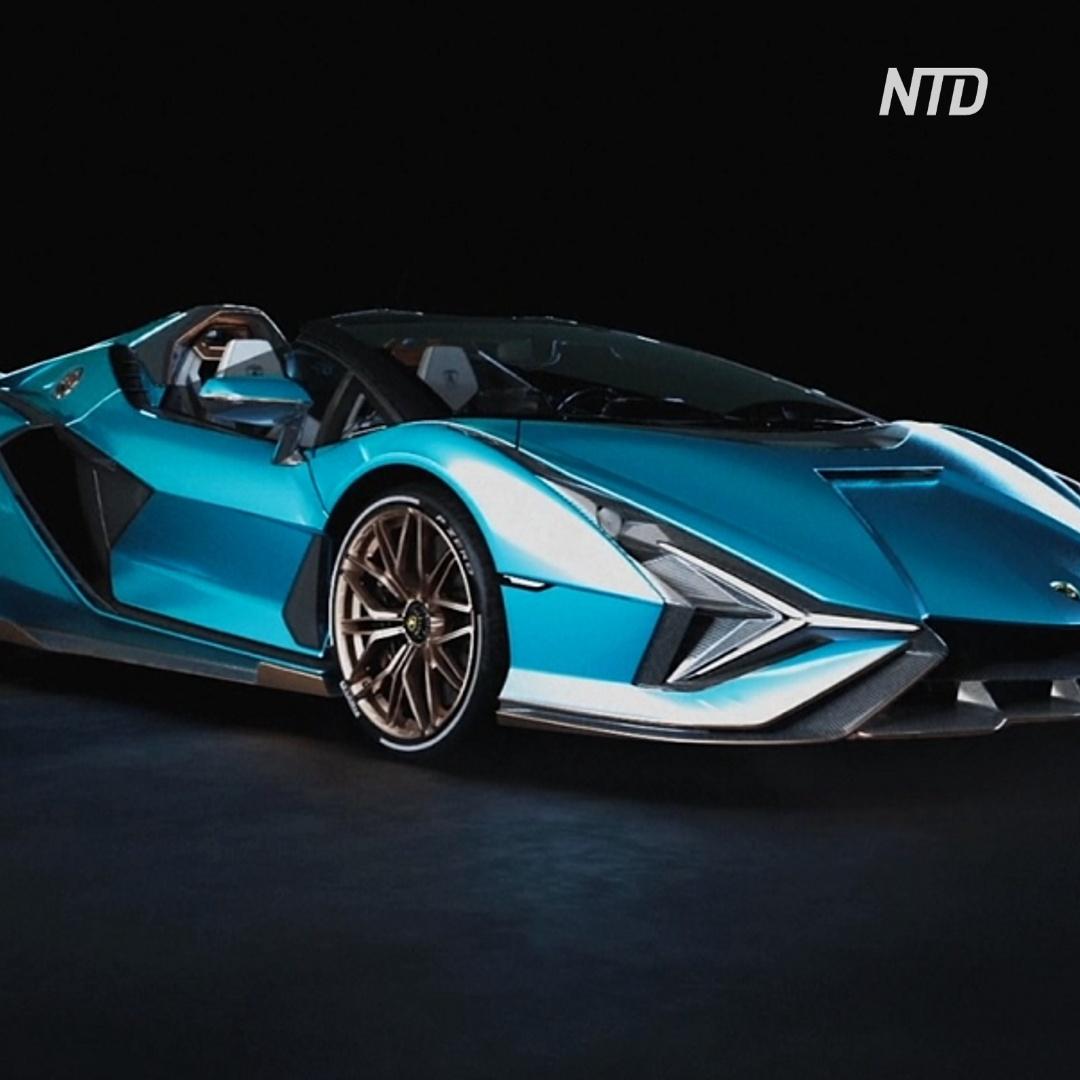 Знакомьтесь, новая модель Lamborghini – Sian Roadster