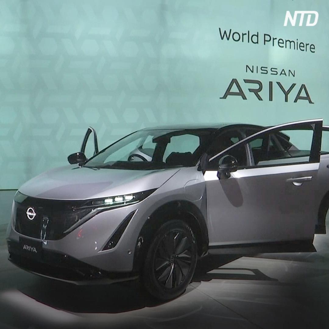 В Японии дебютировал электрокроссовер Ariya